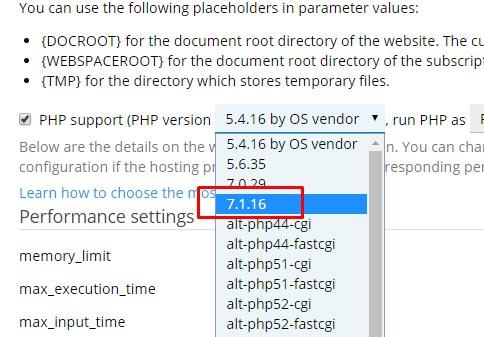 Cara upgrade versi php di plesk