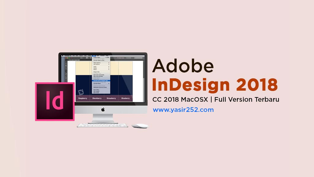 Download Adobe InDesign CC 2018 MacOSX Full Version