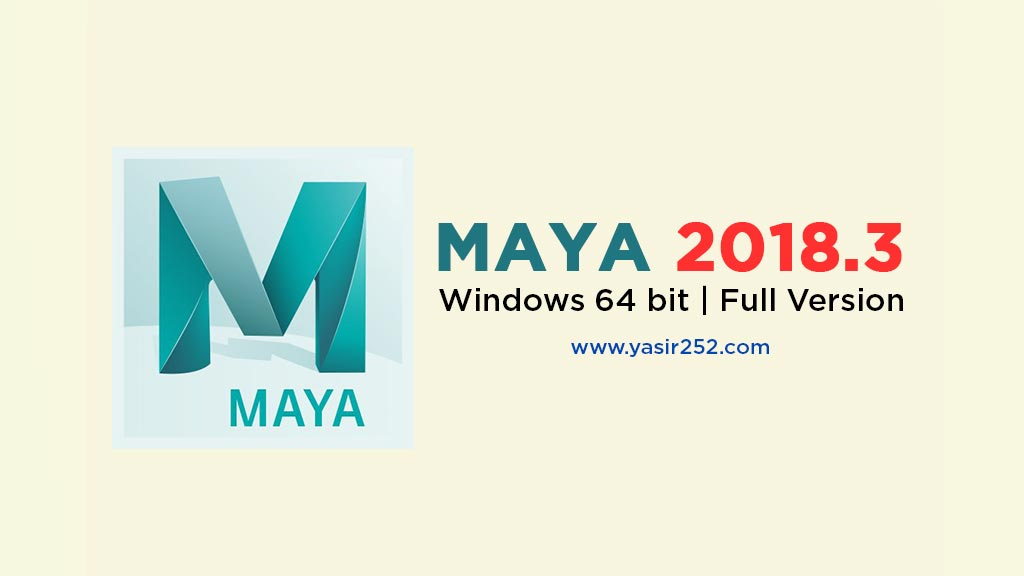 Download Autodesk Maya 2018 Full Version Crack