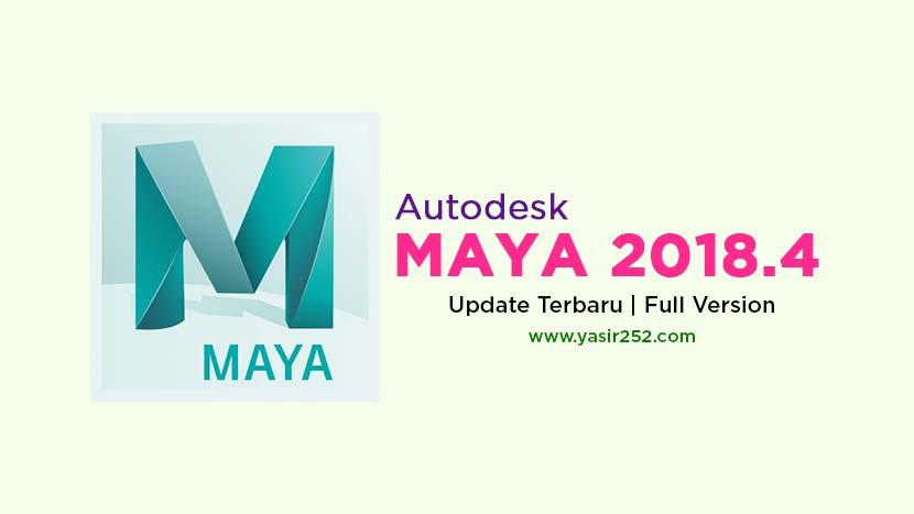 Download Autodesk Maya 2018 Full Version Gratis