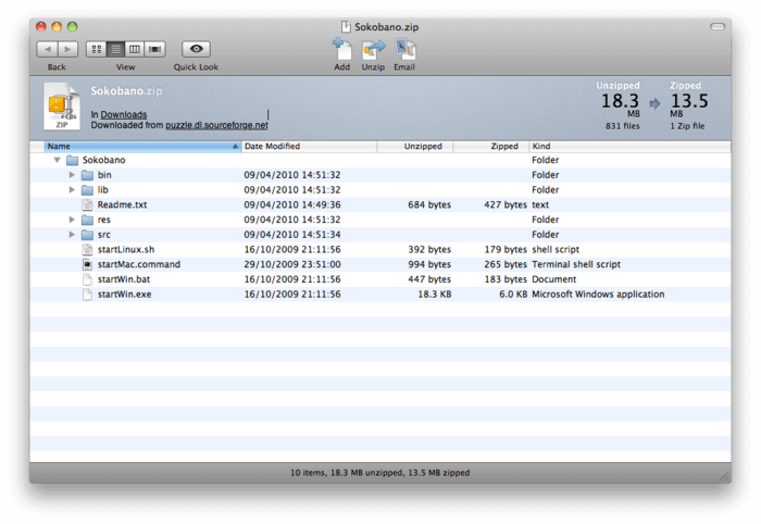 Free download rar extractor mac winzip