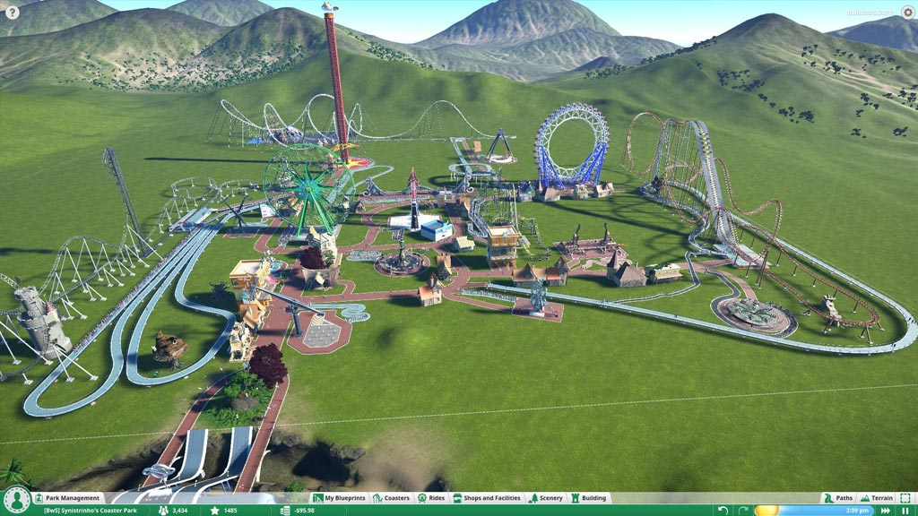 Gameplay planet coaster pc game full version