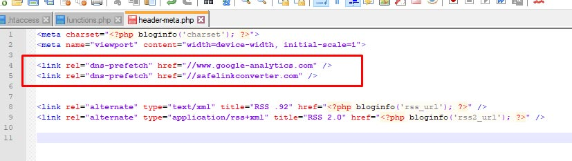 Menggunakan DNS Prefetch WordPress