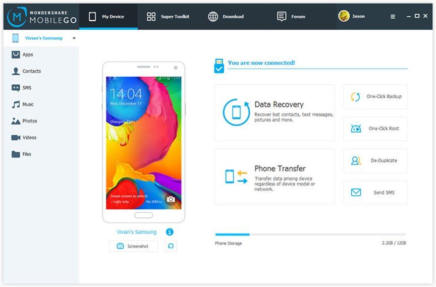 Menghubungkan android ke komputer dengan mobile go full