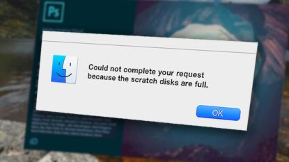 Cara Mengatasi Adobe Photoshop Scratch Disk Full Windows Mac