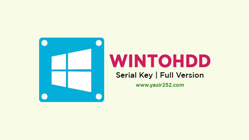 Download WinToHDD Full Version PC Terbaru
