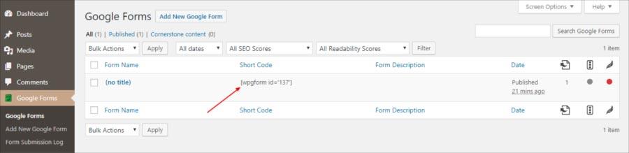 Membuat formulir online di wordpress