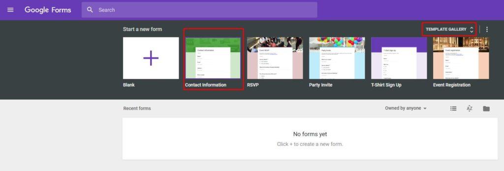 Membuat formulir online google form gratis