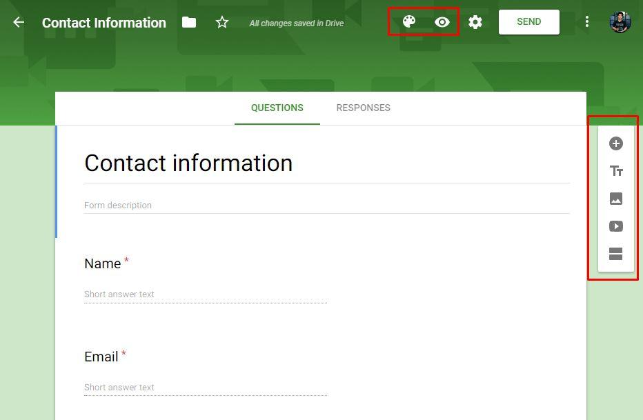 Membuat formulir online gratis dengan google forms