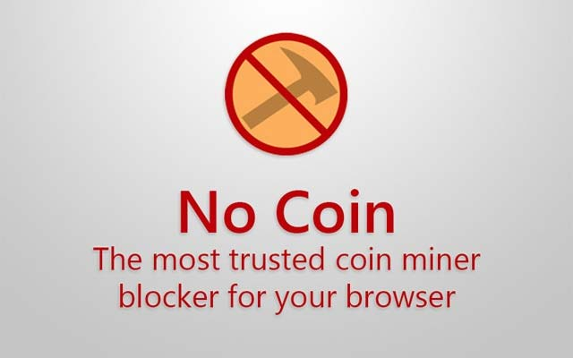 Blokir Coin Miner No Coin Browser Extension