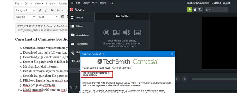 camtasia cracked 2018