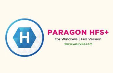 Download Paragon HFS+ for Windows Full Crack