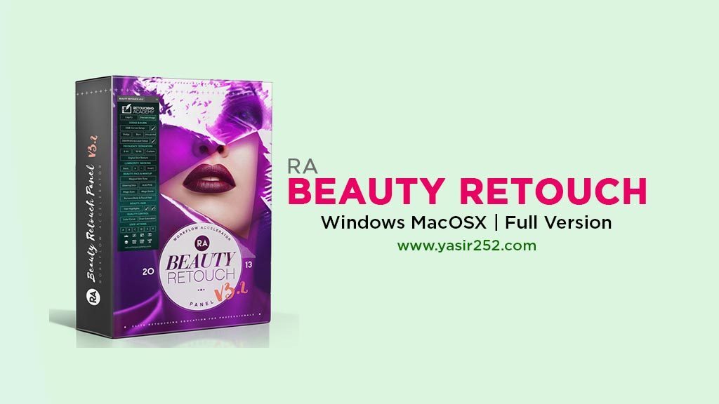Download RA Beauty Retouch Full Version Photoshop CC 2018 v3.2