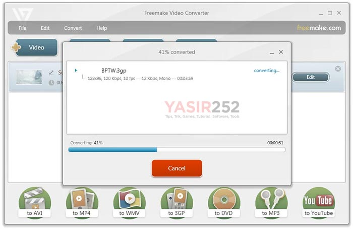 Freemake Video Converter Full Software Features