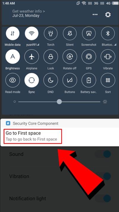 Fitur Second Space Xiaomi Terbaru