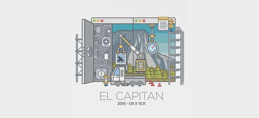 mac os x el capitan tahun 2015 - Daftar Nama dan Versi Mac OS Dari Versi Pertama Hingga Versi Sekarang