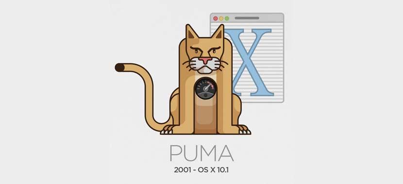 mac osx puma tahun 2001 - Daftar Nama dan Versi Mac OS Dari Versi Pertama Hingga Versi Sekarang