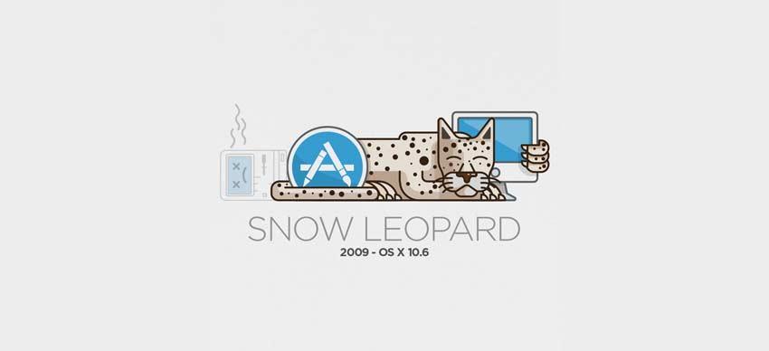 Mac OSX Snow Leopard tahun 2009
