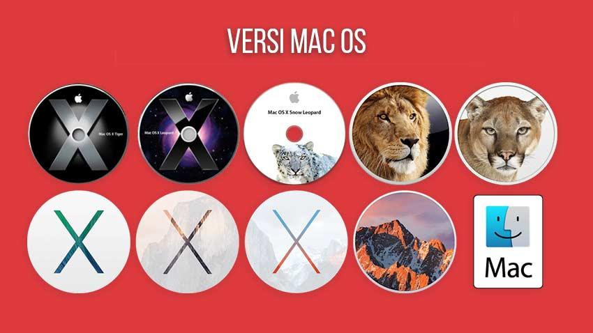 Nama Nama Mac OS Sistem Operasi