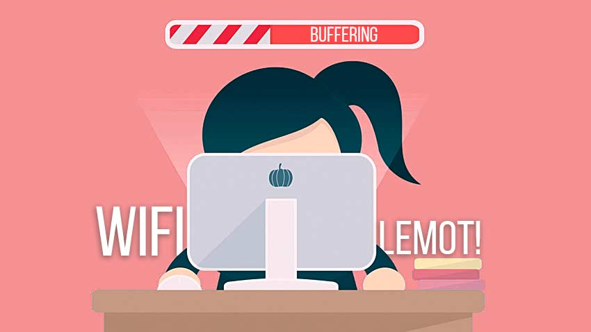 Penyebab WIFI Lemot browsing internet di chrome dan firefox