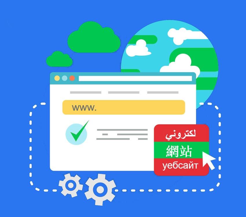 URL berbeda untuk bahasa berbeda