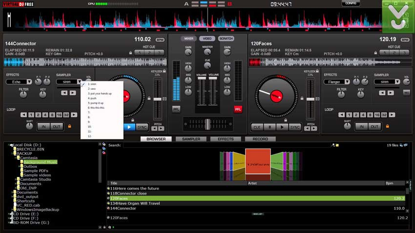 Virtual DJ 7 Full Crack VDJ 7