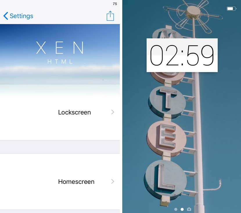 XenHTML Cydia Iphone