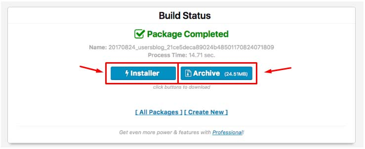 Cara Backup WordPress Plugin Duplicator