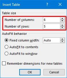 cara membuat tabel di microsoft word 2013