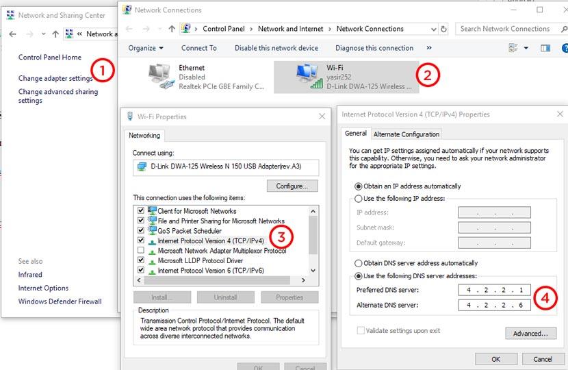 Cara Membuka Situs Terlarang Dengan DNS MNCPlay Fastnet dan Indihome
