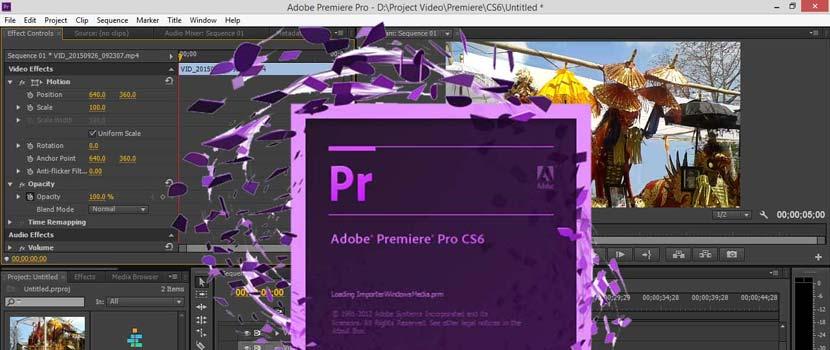 Download Adobe Premiere CS6 Full Crack