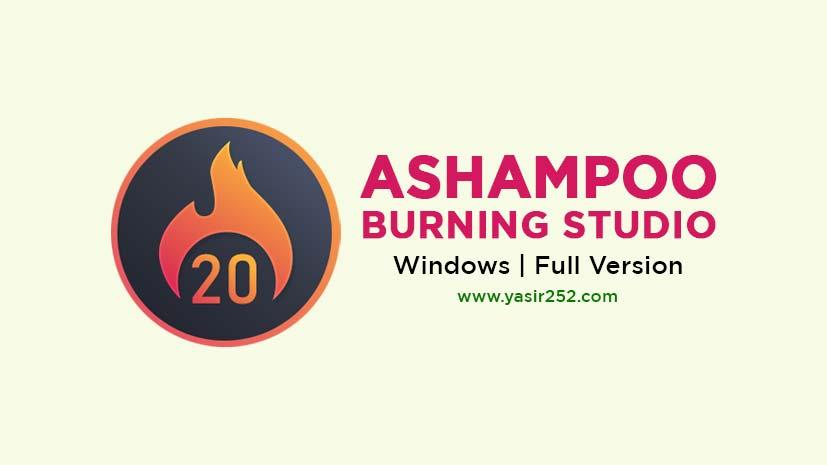 Ashampoo Burning Studio Full Version Free Download