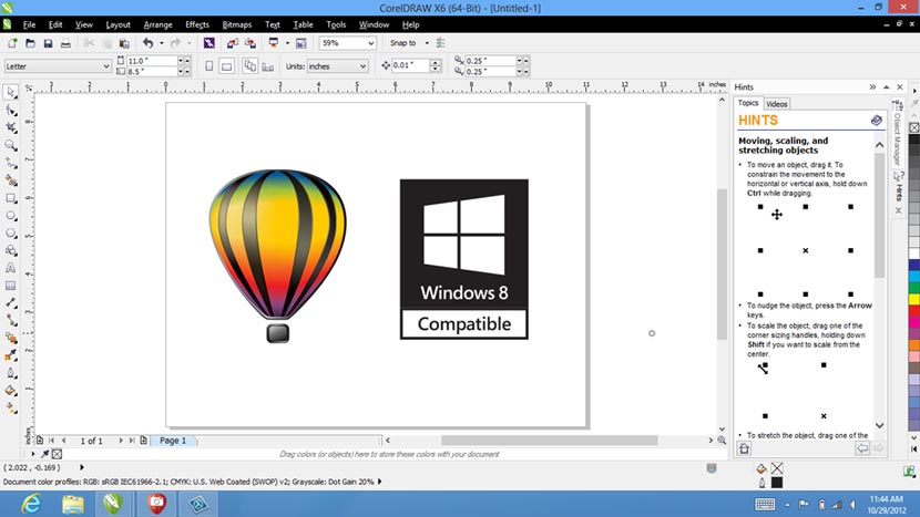 Download CorelDraw X6 Full Crack Keygen