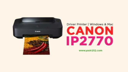 Download Driver Canon IP2770 Gratis Windows