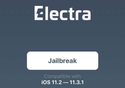Jailbreak iOS 11 dengan aplikasi electra