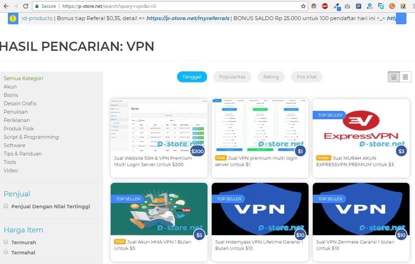 Menghilangkan Internet Positif Dengan VPN Gratis
