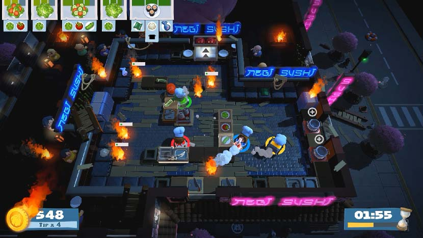 Overcooked 2 PC Game Free Download Full Version