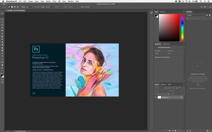 Adobe Photoshop CC 2018 MacOSX Full Version | YASIR252