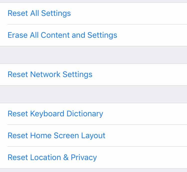cara reset iphone mudah