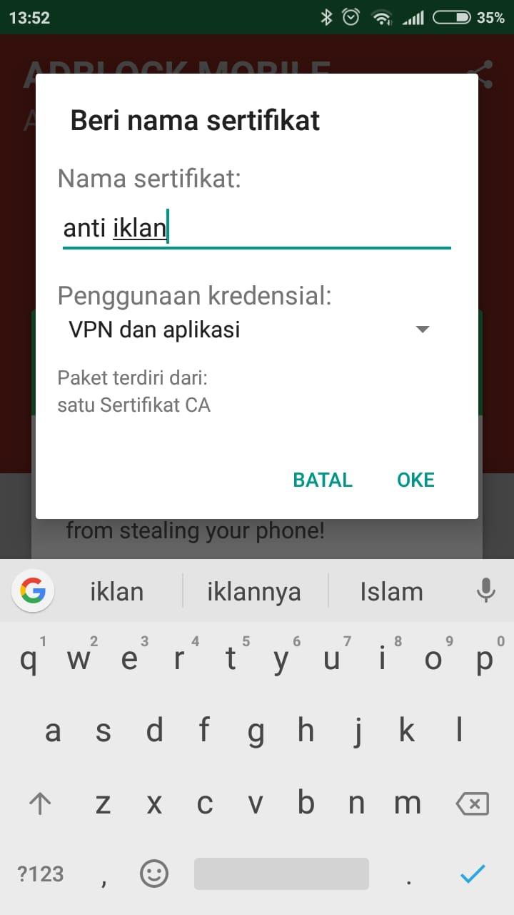 cara menghilangkan iklan di hp iphone