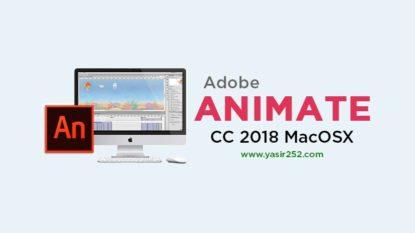 Download Adobe Animate CC 2018 MacOSX Full Version Mac