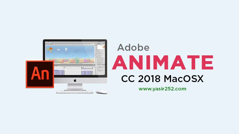 Download Adobe Animate CC 2018 MacOSX Full Version Mac
