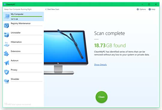 Download CleanMyPC Full Crack