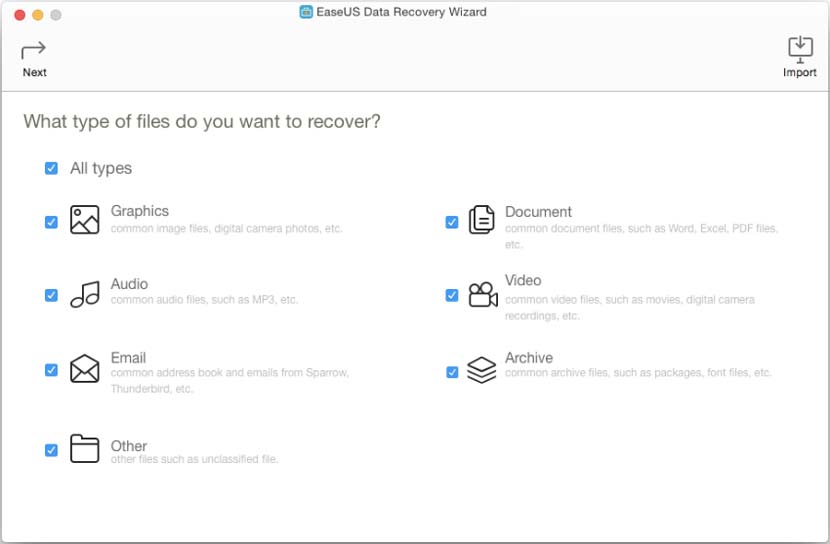 Download EaseUS Data Recovery Wizard Mac Full Crack