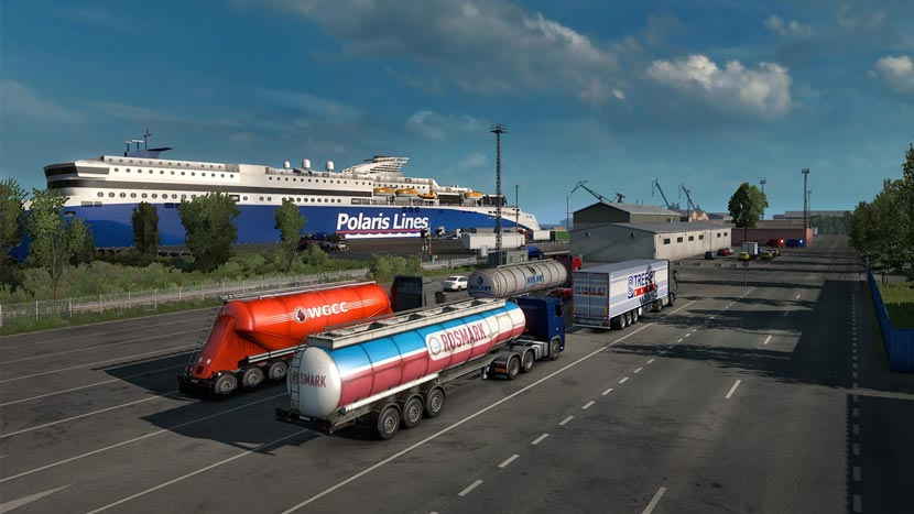 Download Game Euro Truck Simulator 2 Full Crack