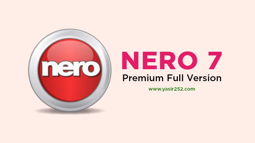 Download Nero 7 Full Crack Gratis