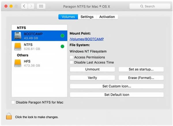 Download Paragon NTFS Full Crack