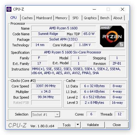 Free Download CPU Z Terbaru Gratis PC