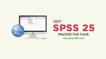 IBM SPSS 25 Mac Full Version Crack