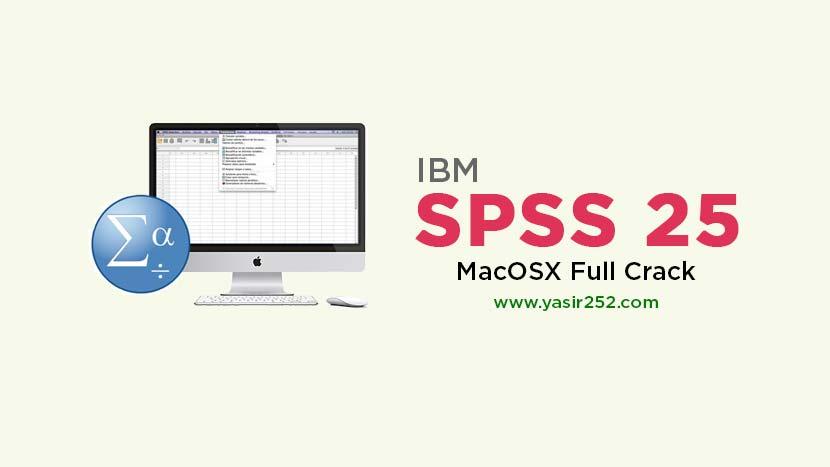 IBM SPSS 25 Mac Full Version